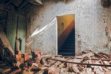 Crollo del Tetto di Palazzo Torti