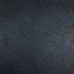 Black stone, concrete background with high resolution Copy space Top view