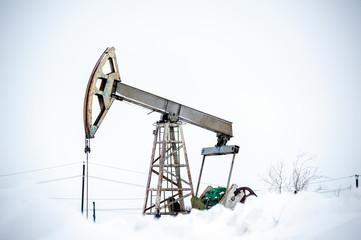 Pump Jack on a oilfield.