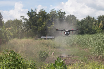 agriculture drone ,technology vehicle for plant ,smart farmer