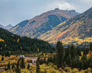 The Scenic Beauty of Colorado's San Juan Mountains in Autumn