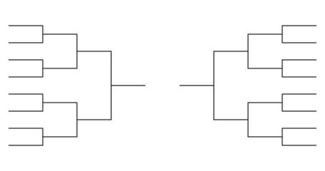 team Tournament bracket templates