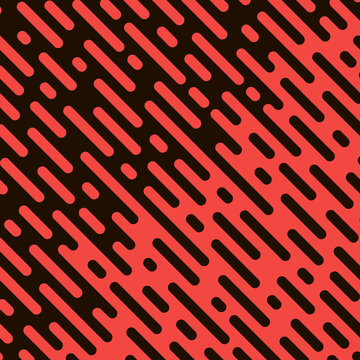 Rounded lines seamless pattern. background with halftone transition