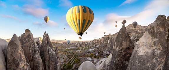Hot air Balloons flight in Cappadocia