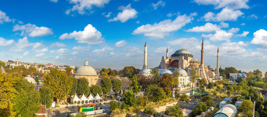 Wall Mural - Hagia Sophia in Istanbul, Turkey