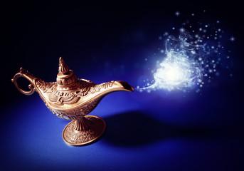 Magic Aladdins Genie lamp