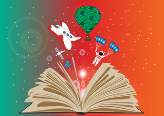 Book and imagination