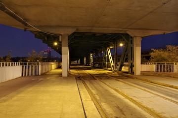 Linia tramwajowa pod Mostem Gdańskim