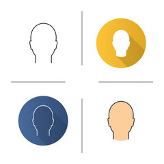 Man's head icon