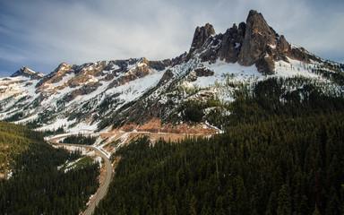 Washington Pass in North Cascades Nationalpark