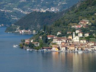 Zelfklevend Fotobehang Meer / Vijver View of Peschiera Maraglio at Monte Isola - Lake Iseo