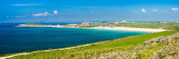 East Pentire Newquay Cornwall England