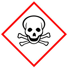 Toxic hazard pictogram