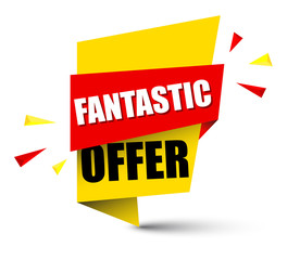 banner fantastic offer