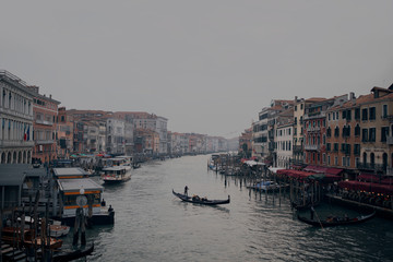 Main channel of Venice