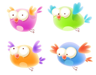 Cute Cartoon Bird