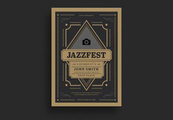 Jazzfest Deco Flyer