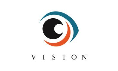 Optic vision logo