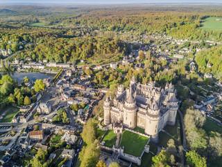 Amazing castle in Pierrefonds, France