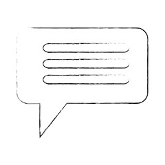 speech bubble isolated icon