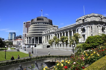 New Zealand parliament,Wellington,New Zealand