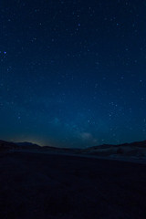 Starry Night Over Death Valley