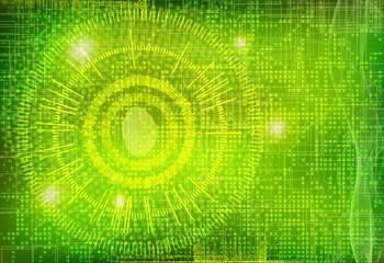 Vector  Digital Data Web Security Fingerprint Lock  Background