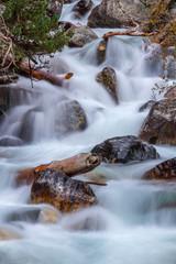 Water stream stones