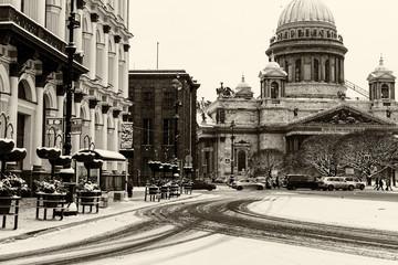 Saint Isaac's Cathedral landmark Petersburg
