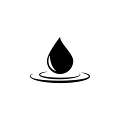 Big oil droplet icon. Finance elements. Premium quality graphic design. Simple icon for websites, web design, mobile app, info graphics