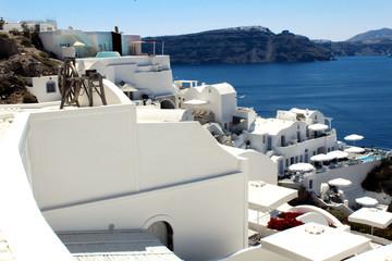 Santorini Landscape, Oia City - Greece