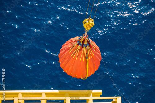 Offshore-Haken Prozess