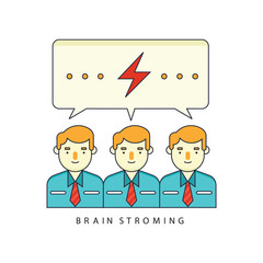 Employment icon work design bussines illustration