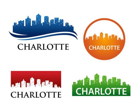 Charlotte Skyline Logo Template