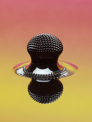 Macro of Ferrofluid structure