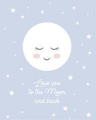 Mond - Love you to the moon and back