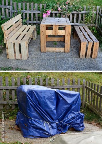 Gartenmobel Palettenmobel Stockfotos Und Lizenzfreie Bilder Auf