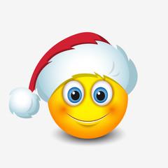 Cute Santa Claus emoticon