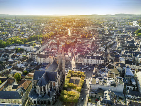 Charming town called Compiegne, Hauts-de-France, France