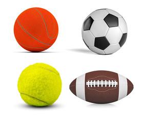 Set of balls