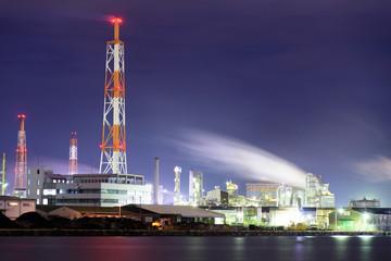 北九州のプラント夜景