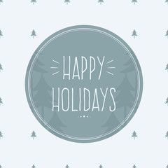 Happy Holidays Greeting Cards.