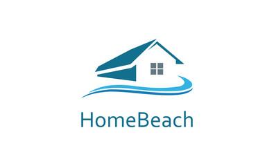 home beach logo