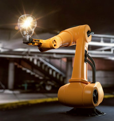 Industrieroboter Idee Vision