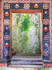 Foto op Aluminium Imagination Inner view of Trongsa Dzong, one of the oldest Dzongs in Bumthang, Bhutan, Asia