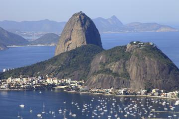 City of Rio de Janeiro, main tourist spot in Brazil Fototapete