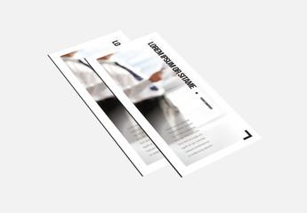 Corporate Tri-fold Brochure Layout