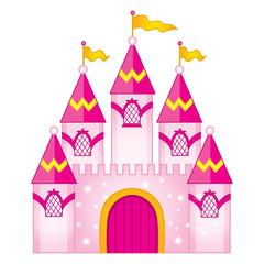 Vector Magic Fairytale Castle