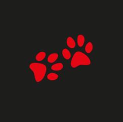 Paw animal icon