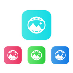Four Colors - Flat App Icons